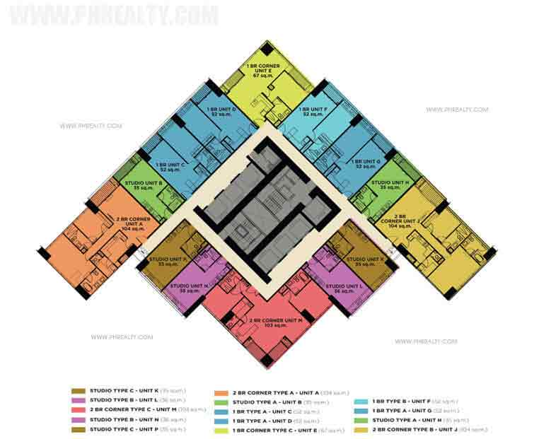 The Capital Towers - Floor Plan