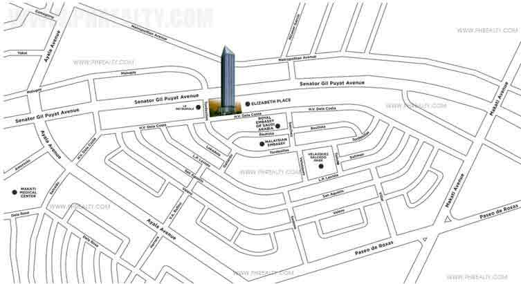 The Capital Towers - Location & Vicinity