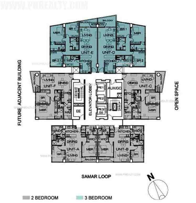 1016 residences condominium for sale in cebu city cebu for Real estate floor plan pricing