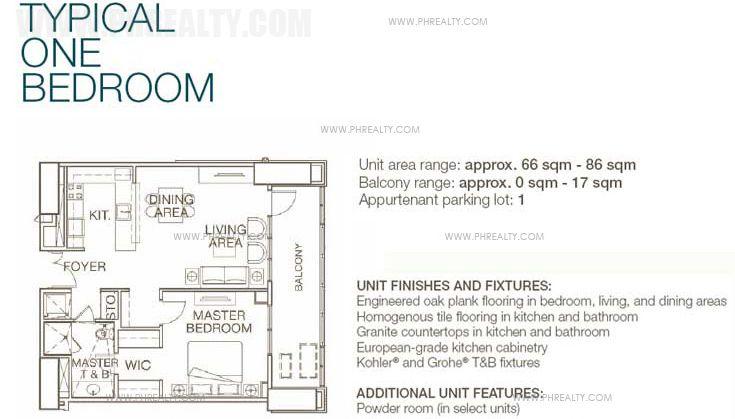 West Tower - 1 Bedroom