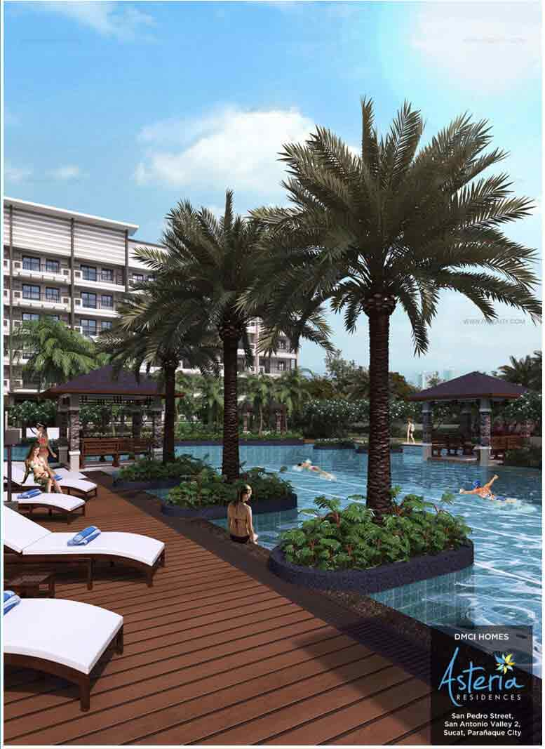 Asteria Residences - Pool Deck