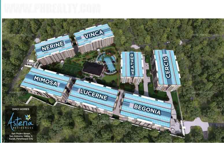 Asteria Residences - Site Development Plan