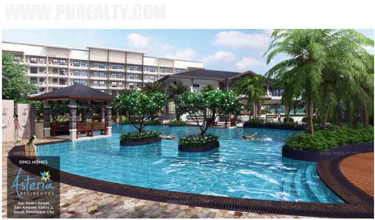 Asteria Residences - Lap Pool