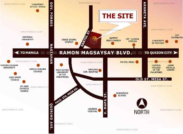 The Silk Residences - Location & Vicinity