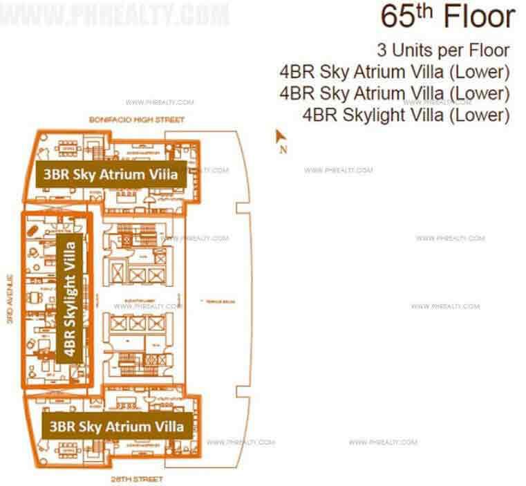 The Suites - Floor Plans