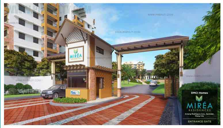 Mirea Residences - Entrance Gate