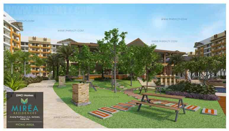 Mirea Residences - Grill Pits