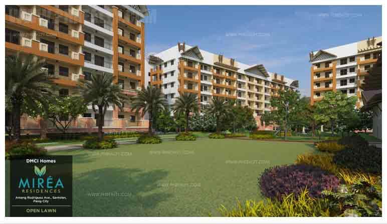 Mirea Residences - Lawn + Area