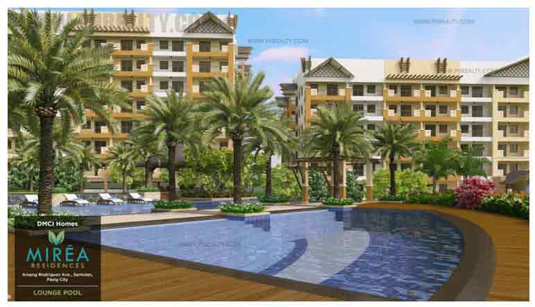 Mirea Residences - Lounge + Pool 2
