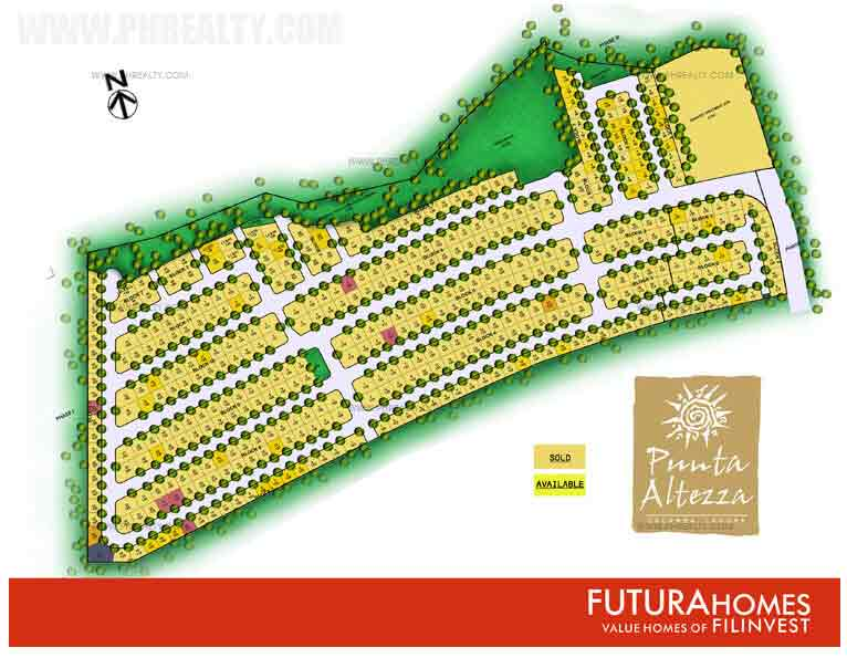 Punta Altezza - Site Development Plan