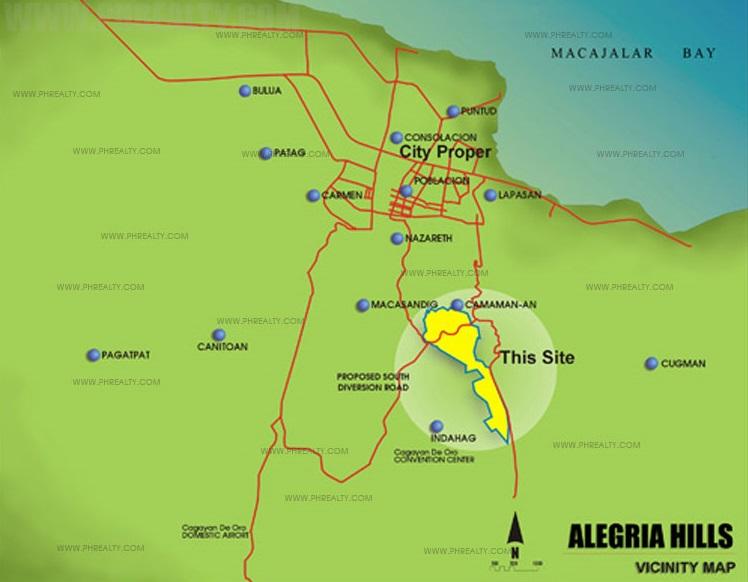 Alegria Hills -  Location & Vicinity