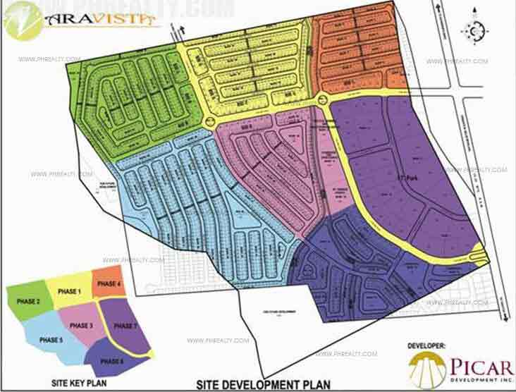 Winter Breeze Homes Cavite - Site Development Plan
