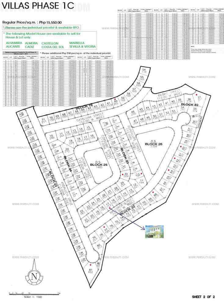 Mediterranean Villas - Site Development Plan