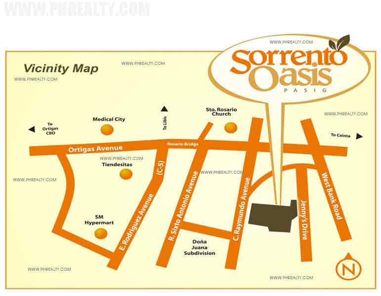 Sorrento Oasis - Location & Vicinity