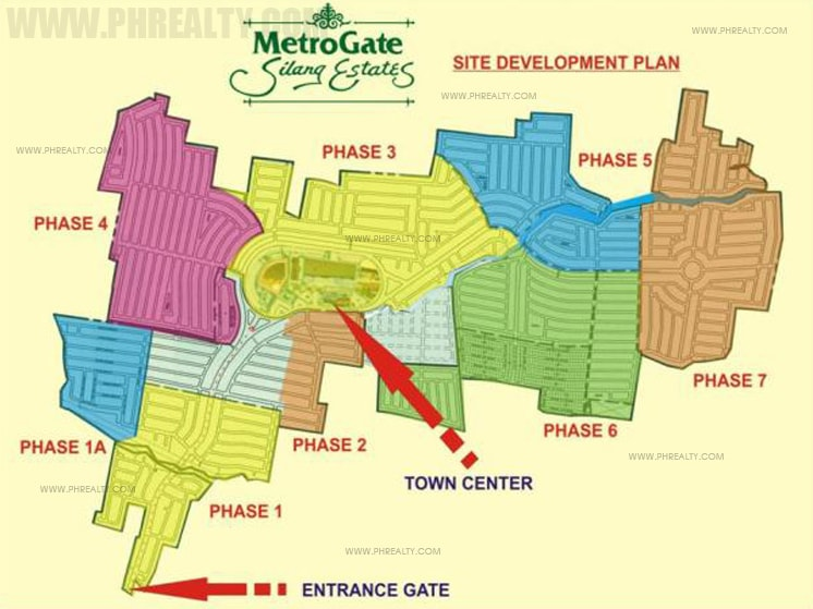 Metrogate Silang Estates - Site Development Plan