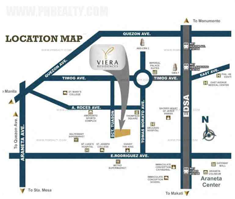 Viera Residences - Location & Vicinity