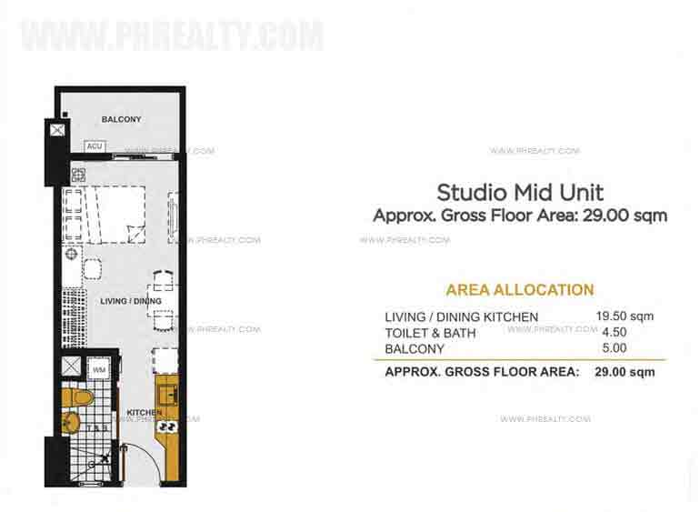 Viera Residences - Studio Mid Unit