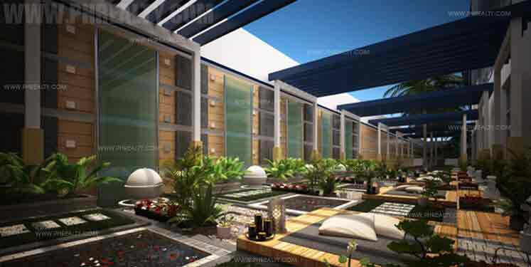 The Stratford Residences - Meditation Garden
