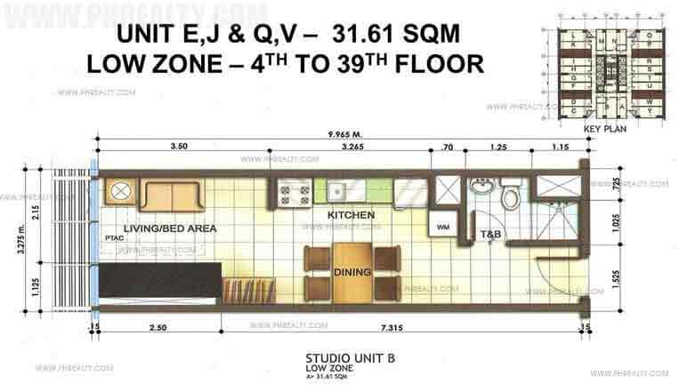 The Stratford Residences - Studio Unit
