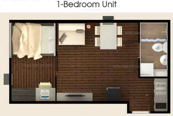 Stanford Suites - 1 Bedroom Unit