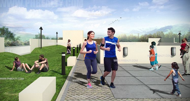 Stanford Suites - Jogging Area