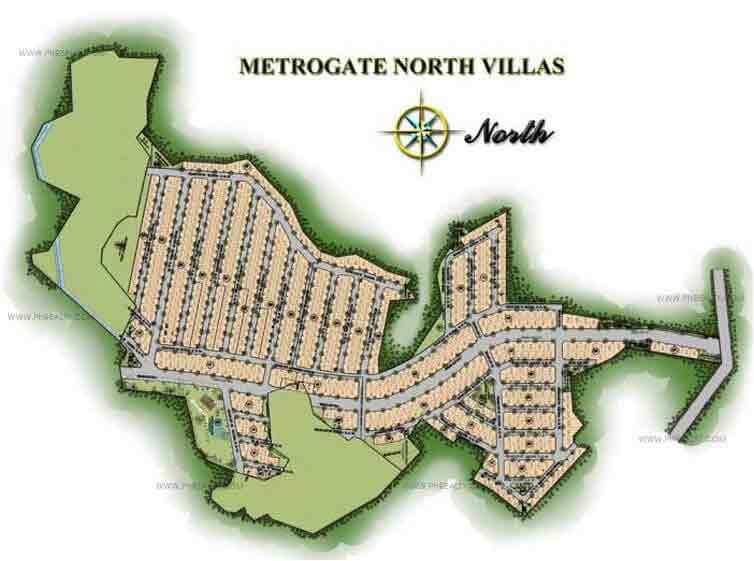 Metrogate North Villas - Site Development Plan