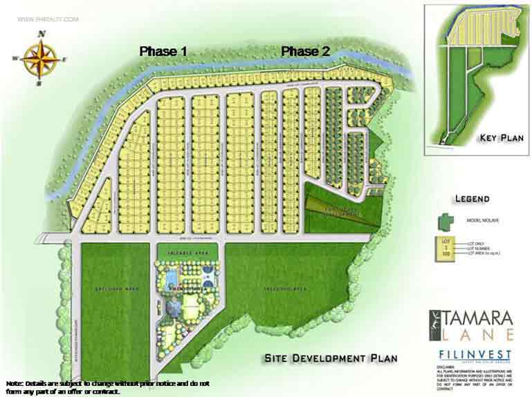 Tamara Lane - Site Development Plan