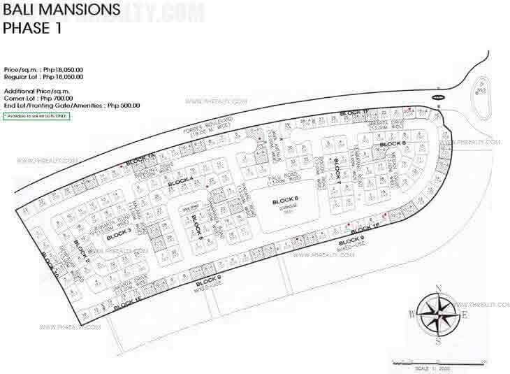 Bali Mansions - Site Development Plan (1)