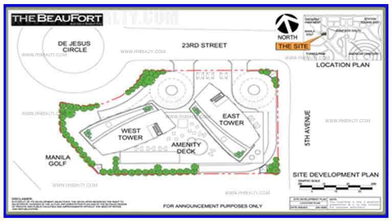 The Beaufort - Building Plan