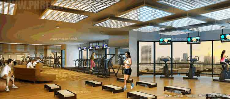 Twin Oaks Place - Fitness Area