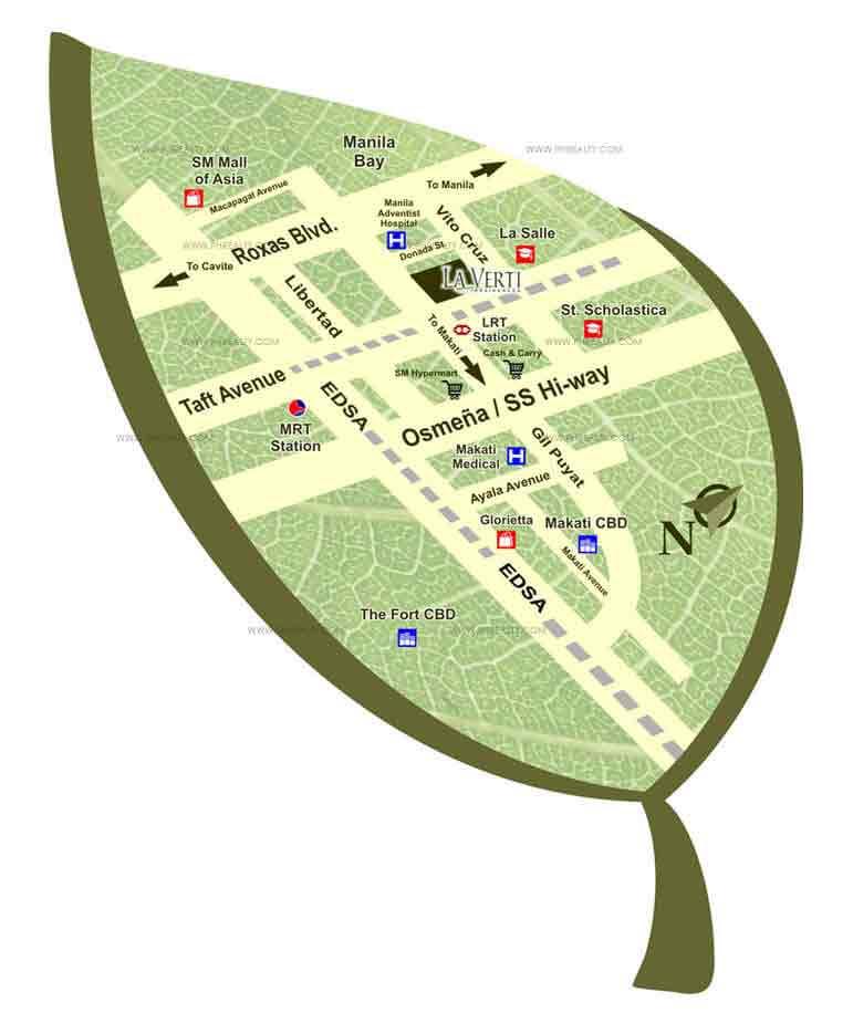 La Verti Residences Condominium In Leveriza Pasay Metro Manila Price