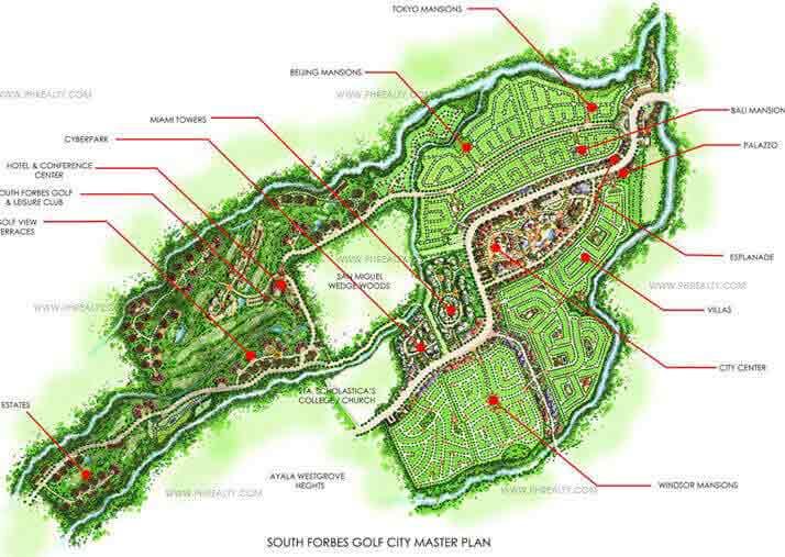 Phuket Mansions - Master Plan