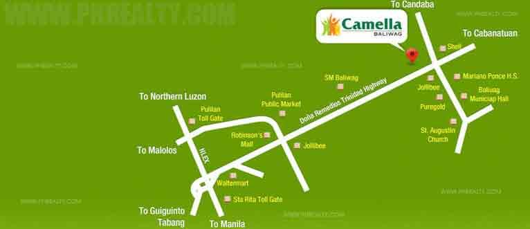Camella Baliwag - Location & Vicinity