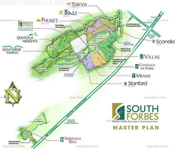Nirwana Bali - Master Plan