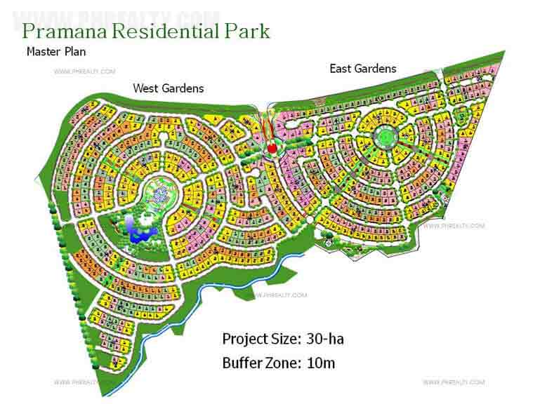 Pramana Residential Park - Site Development Plan