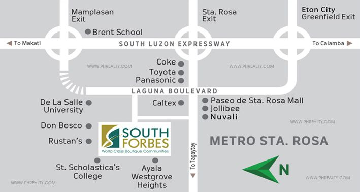 Scandia Suites - Location Map