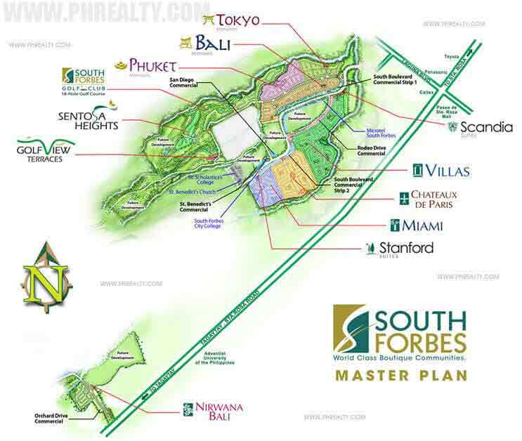 Scandia Suites - Master Plan