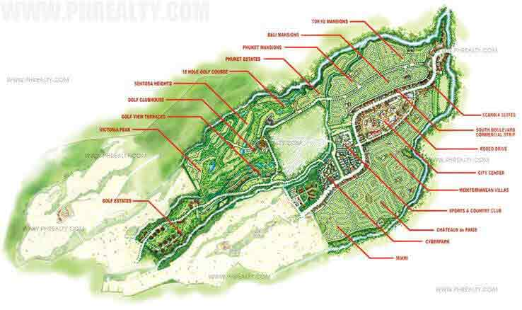 Golf View Terraces - Site Development Plan