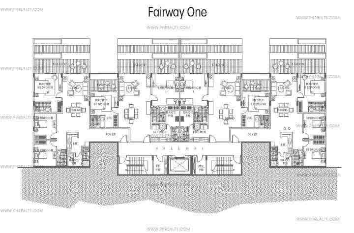 Golf View Terraces - Fairway One Floor Plan