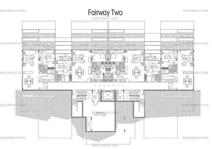 Golf View Terraces - Fairway Two Floor Plan