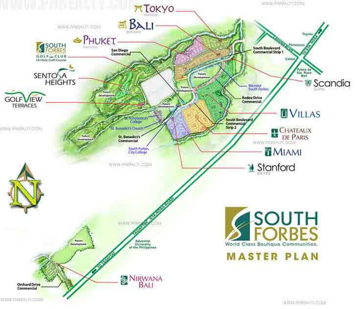 Golf View Terraces - Master Plan