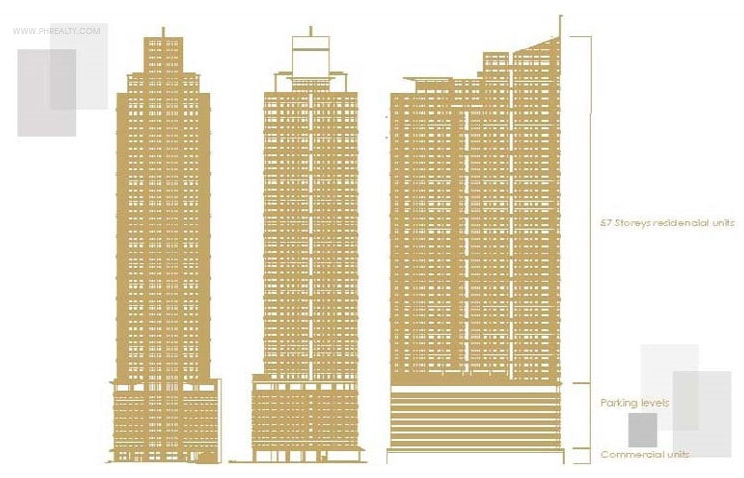 1322 Golden Empire Tower - Building Plan