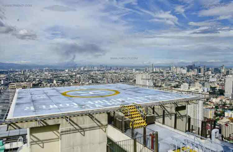 1322 Golden Empire Tower - Helipad