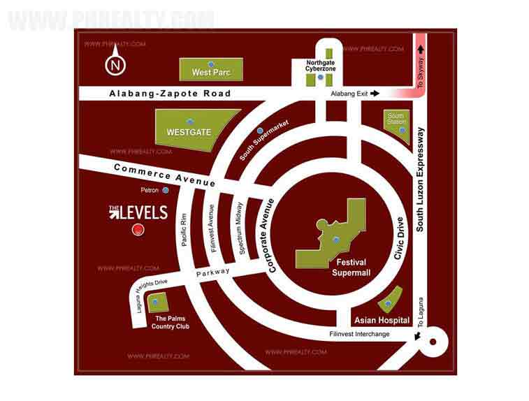 The Levels -  Location & Vicinity