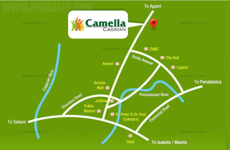 Camella Cagayan - Location & Vicinity