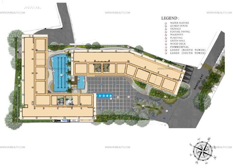 Covent Garden  - Amenity Floor Plan