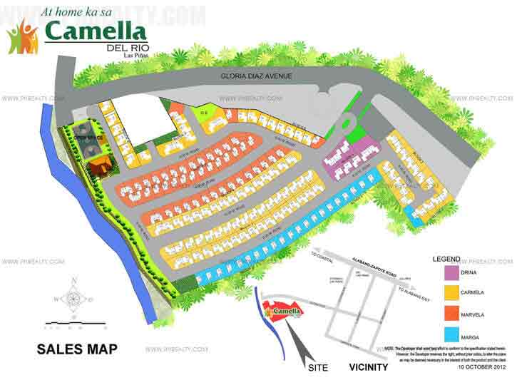 Camella Del Rios - Site Development Plan