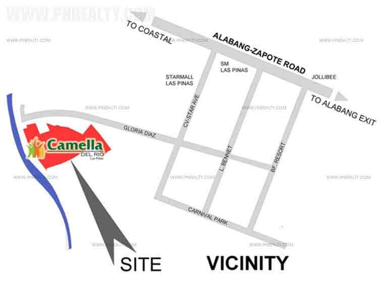 Camella Del Rios - Location & Vicinity