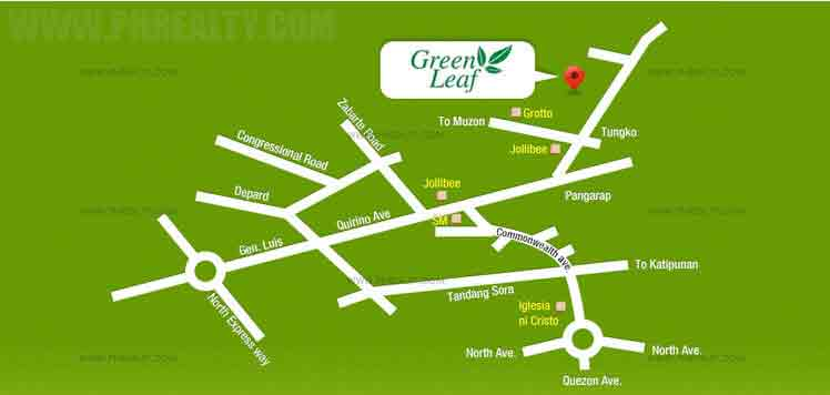 Camella Greenleaf - Location & Vicinity