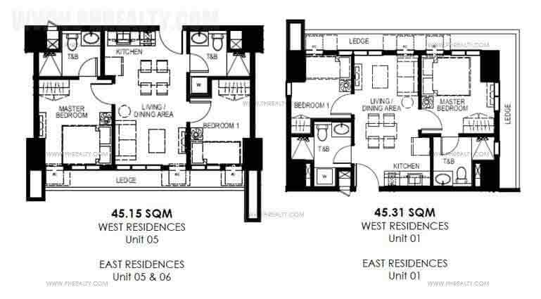 Mango Tree Residences  - Typical Level-Unit Layout